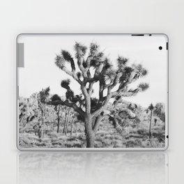 Large Joshua Tree in Black and White Laptop & iPad Skin