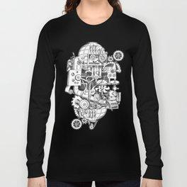 DINNER TIME FOR THE ROBOT Long Sleeve T-shirt
