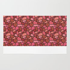 Stained Glass Red Rug