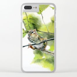 Balancing Act by Teresa Thompson Clear iPhone Case