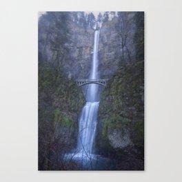 Multnomah Falls, painterly Canvas Print