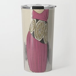 Always Chic Dresses, Winter 1921-1922Youth, GP. Joumard, 1921 - 1922 Travel Mug