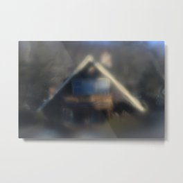warm house Metal Print