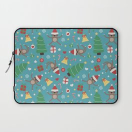 Lazy Sloth Christmas Laptop Sleeve