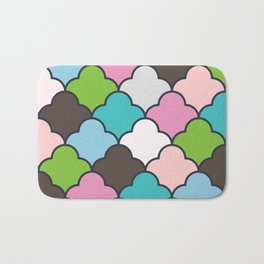 Preppy Fun Pattern Bath Mat