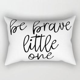 Be Brave Little One, Nursery, Printable, Nursery Wall Art Rectangular Pillow