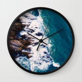 Coast in Autumn Wall Clock
