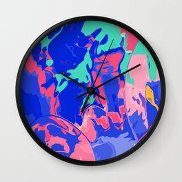 Make the colors pop Wall Clock