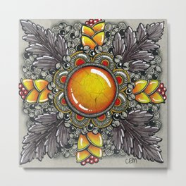 Ornate Moonstone Metal Print