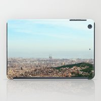 barcelona iPad Cases featuring Barcelona by Julius Marc