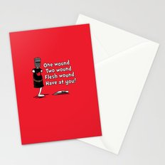 One Wound, Two Wound..... Stationery Cards