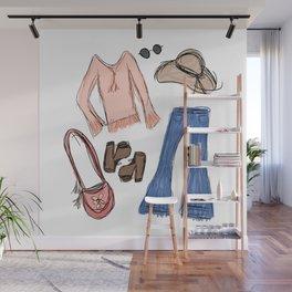 70s essentials  Wall Mural