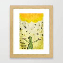 Lord of the Flies Framed Art Print