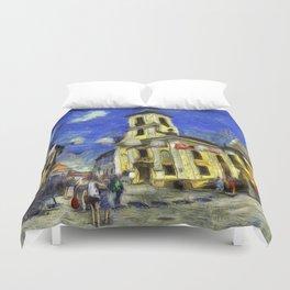Szentendre Hungary Van Gogh Duvet Cover