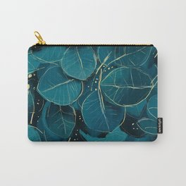 Tropical Green Carry-All Pouch