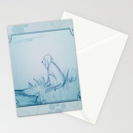 Lonely Dog Stationery Cards