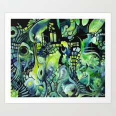 Little Underwater Earthquakes Art Print