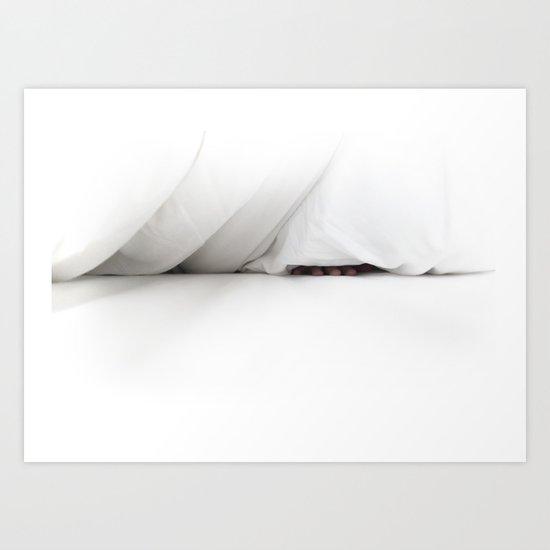 bed Art Print