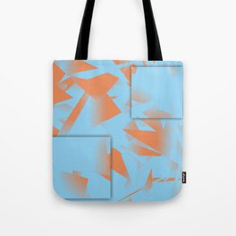 Blue is the new Orange Tote Bag