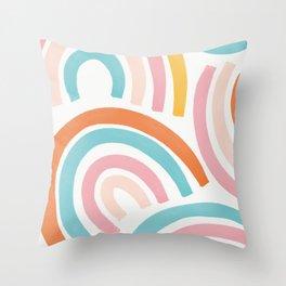 Rainbows Combo Throw Pillow
