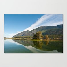 Peaceful Lake Canvas Print