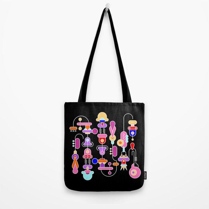 Abstract Art Design Tote Bag