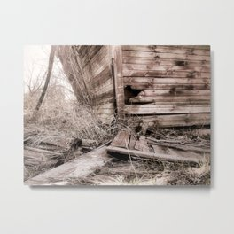 Abandoned Barn I Metal Print