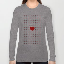 Sparkling Heart Long Sleeve T-shirt