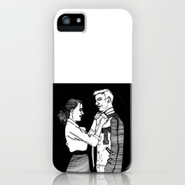 You & Me V iPhone Case