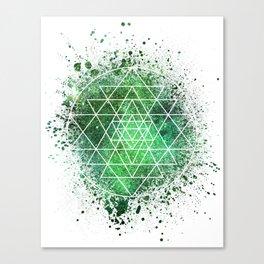 Sri Yantra Sacred Geometry Canvas Print