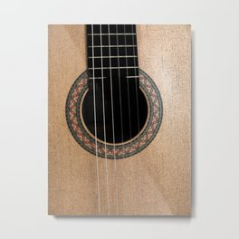 Classic Guitar Metal Print