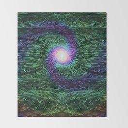 Neuron Nebula Throw Blanket