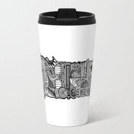 Cros Araild by Celteca Travel Mug