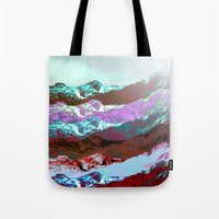 nirvana Tote Bags featuring Nirvana by Hipsterdirtbag