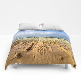 St. Andrews Beach Ocean Rock Ridges Comforters