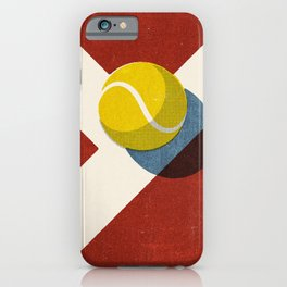BALLS / Tennis (Clay Court) iPhone Case