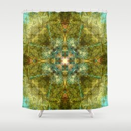 Celtic Shield Shower Curtain