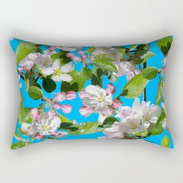 Full bloom blossom Rectangular Pillow