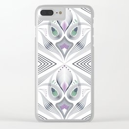 Art Deco 36 . Mystery 2. Clear iPhone Case