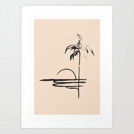 Abstract Landscpe Art Print