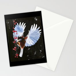 Tit - The Moment - by LiliFlore Stationery Cards