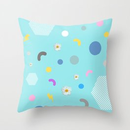 Fun Time Begin Throw Pillow