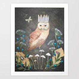 Forest King Art Print