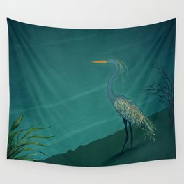 Camouflage: The Crane Wall Tapestry