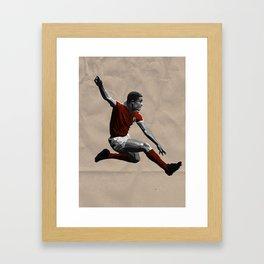 Eusebio - Benfica Framed Art Print