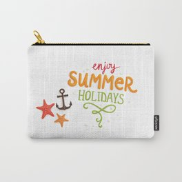 070 enjoy summer holidays Carry-All Pouch
