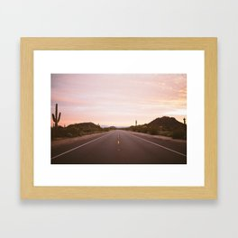 Take the Long Way Home Framed Art Print