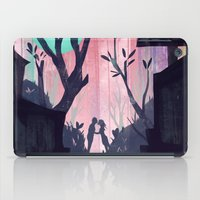 lovers iPad Cases featuring Lovers by youcoucou