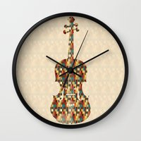 charlie Wall Clocks featuring Charlie by Halamo
