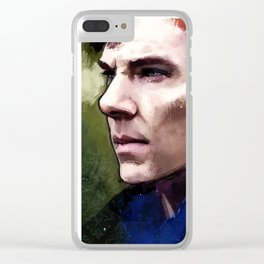 Sherlock Holmes Clear iPhone Case